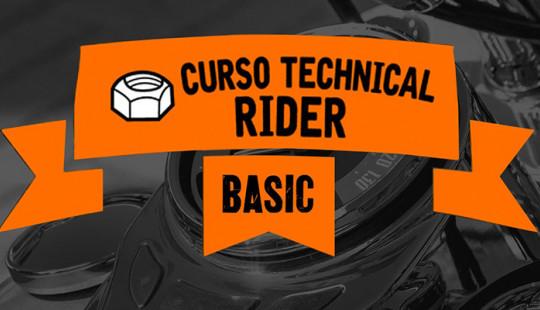 CURSO TECHNICAL RIDER – BASIC