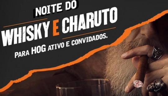NOITE DO WHISKY&CHARUTO